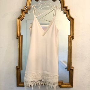 🌿 Express White Summer Dress 🌿